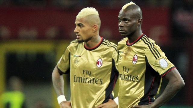 Serie A - Balotelli warned against walking off
