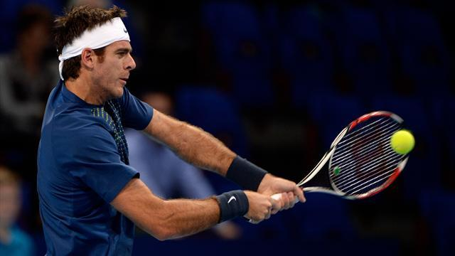 Tennis - Del Potro robbed in Paris on way to London tournament
