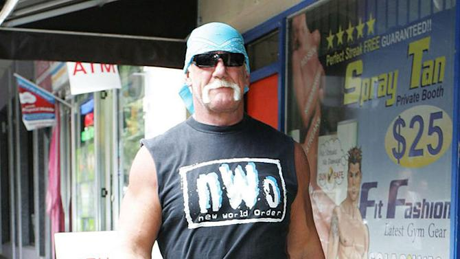 Hulk Hogan At Gym