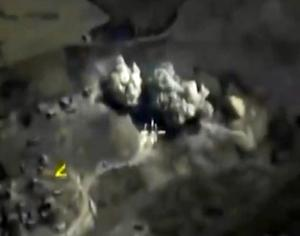 Russian Defence Ministry footage purports to show an …