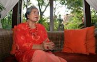 Psychiatrist Dr Luh Ketut Suryani, talks about mental disorder in Bali at her office in Denpasar. Some 50 pasung exist in Karangasem alone, according to Suryani, who discovered the extent of the problem early last decade while researching a spike in suicide rates in the district