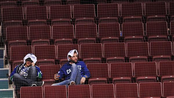 NHL fans of the Vancouver Canucks