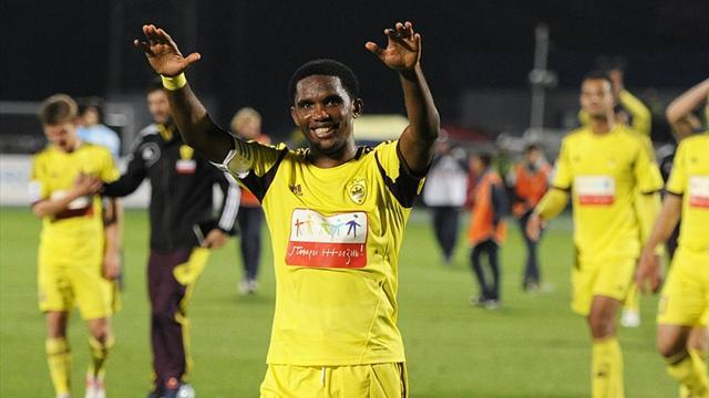 Wealthy Anzhi top in Russia after win over Volga
