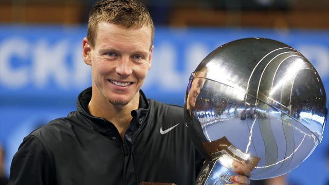 Tennis - Berdych place at ATP finals in London confirmed