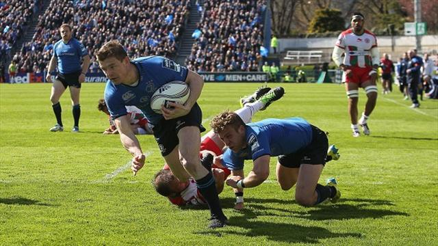 European Challenge Cup - O'Driscoll boost for Leinster ahead of final