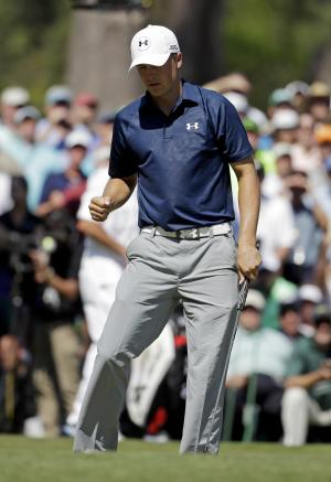 Spieth, Watson tied for lead at the Masters