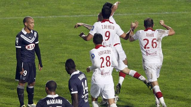 Ligue 1: Last-gasp goal gives Lille a point at unbeaten Bordeaux