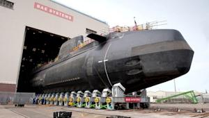 UK Launches Massive, Nuclear-Powered Submarine