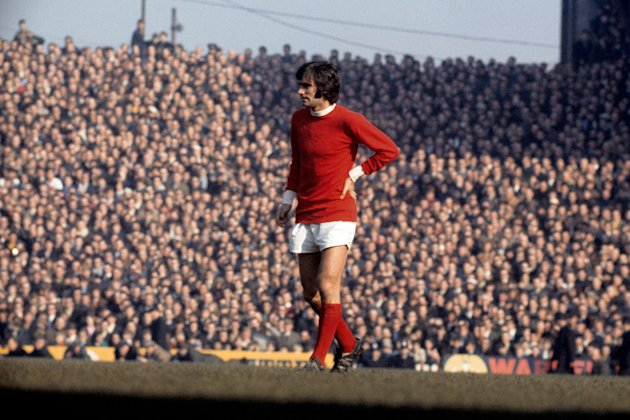 File photo dated 08/03/1969 of Manchester United's George Best.