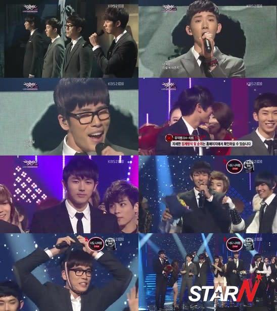'Music Bank' 2AM won over Big Bang