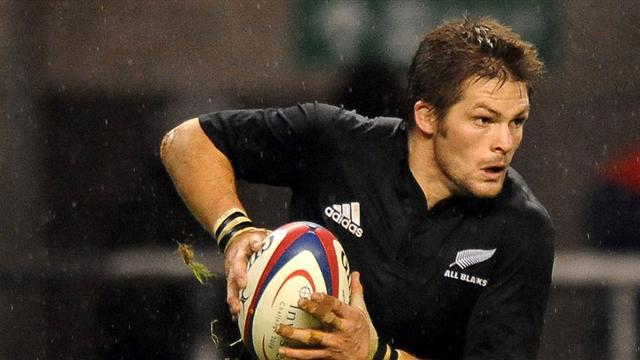 Super Rugby - All Blacks captain McCaw back training but no date for return