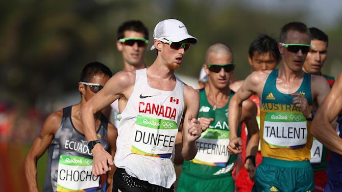 10. Evan Dunfee's controversial Olympic result