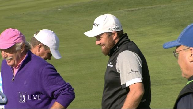 Shane Lowry birdies No. 1 at AT&T Pebble Beach