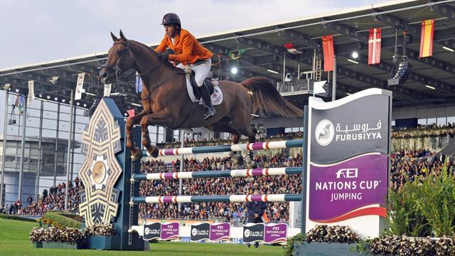 Equestrian - Swiss head to Sweden in Nations Cup lead