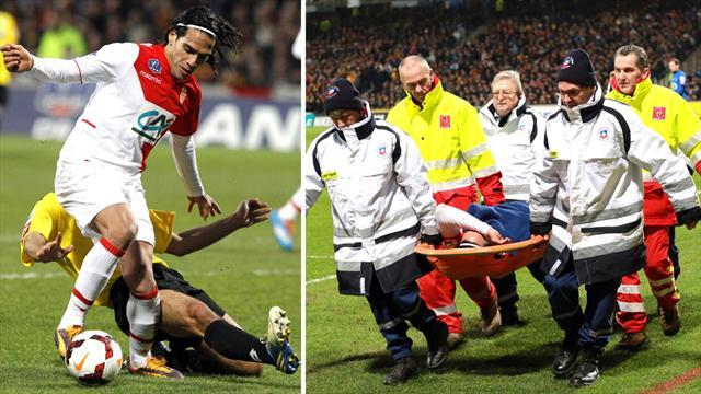 World Cup - Monaco confirm Falcao ACL injury, Brazil 2014 hopes fade