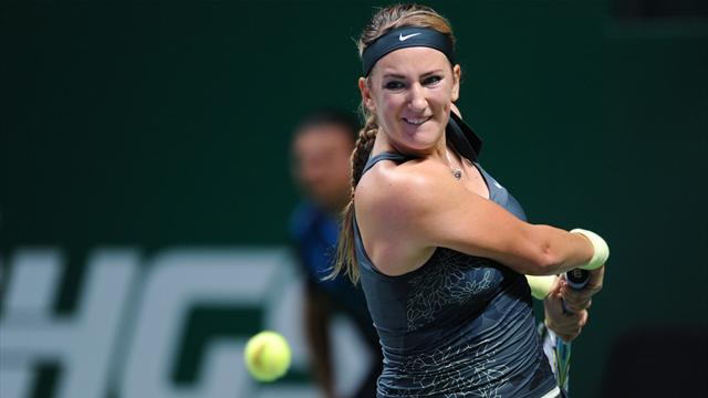 WTA Championships - Azarenka wins to end year as number one