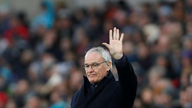 FILE PHOTO Leicester City manager Claudio Ranieri