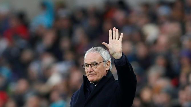 FILE PHOTO Leicester City manager Claudio Ranieri
