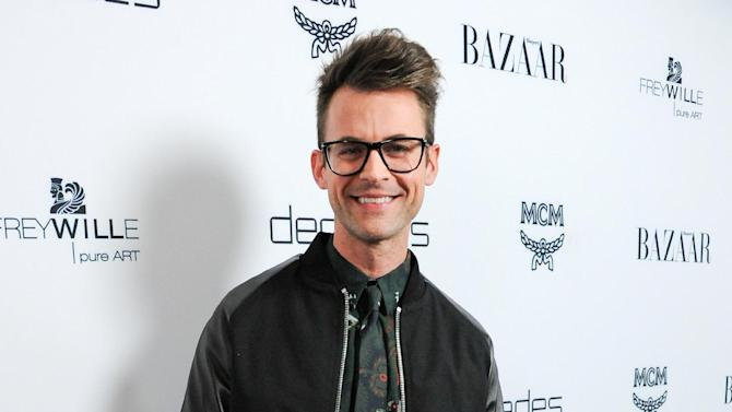 "FILE - This Feb. 28, 2013 file photo shows stylist Brad Goreski at the launch of Bravo's new series ""Dukes of Melrose"" in Los Angeles. Goreski stars in the Bravo series, ""It's a Brad, Brad World,"" airing Wednesdays at 10 p.m. EST. (Photo by Richard Shotwell/Invision/AP, file)"