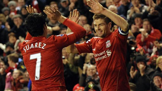 Premier League - Gerrard: Warrior Suarez like a kid in the street