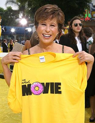 Yeardley Smith at the Los Angeles premiere of 20th Century Fox's The Simpsons Movie