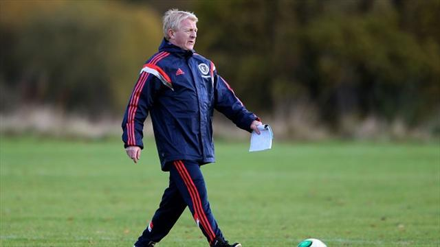 World Cup - McLeish impressed by Strachan impact