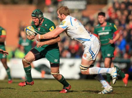 Rugby Union - Aviva Premiership - Leicester Tigers v Exeter Chiefs - Welford Road