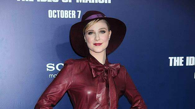 Evan Rachel Wood Ides Of MarchNY Pr