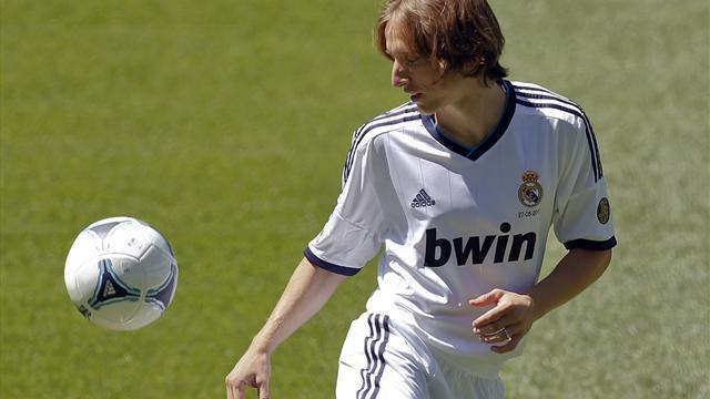 Modric joins Real Madrid on five-year contract