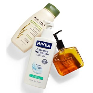 Aveeno, Neutrogena, and Nivea products