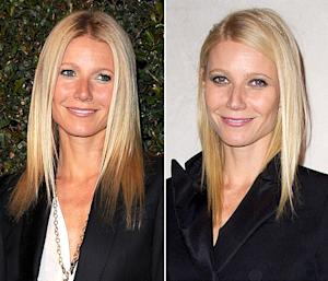Gwyneth Paltrow Reveals New Two-Tone Hair Color