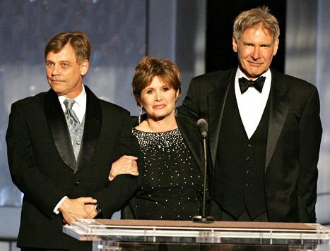 """George Lucas """"Already Signed"""" Harrison Ford, Carrie Fisher, Mark Hamill for Star Wars"""
