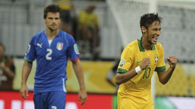 Confederations Cup - Neymar reveals Balotelli advice