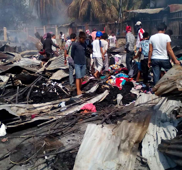 Lawmakers seek probe of zambo market fire yahoo news for Bureau zamboanga