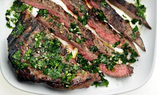 Bobby Flay's Easy & Delicious Chimichurri Steak
