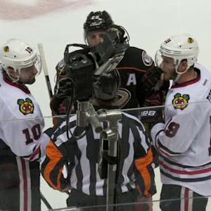 NHL LiveWire: Refs discuss Shaw's header