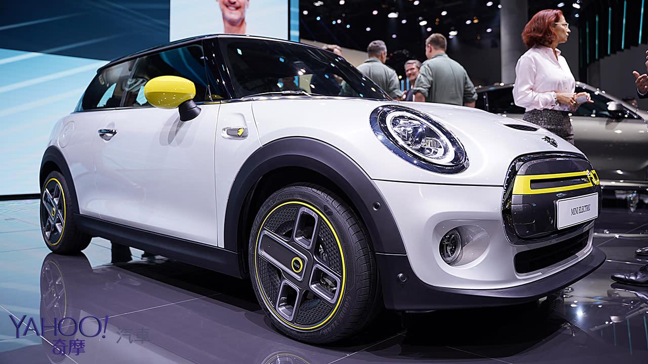 【2019法蘭克福車展】行駛里程達270公里!2020 Mini Cooper SE準備好在歐洲帶電飆速!