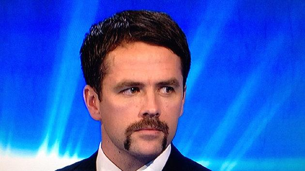 Stoke City striker Michael Owen