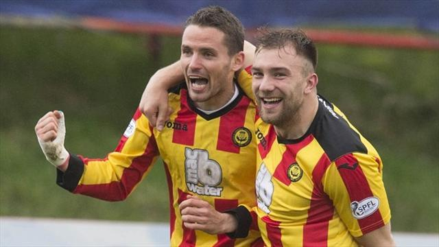 Scottish Football - Hibs punished by Partick