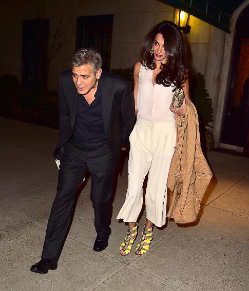 shidah's fashion blog: Amal Clooney Looks Gorgeous in Gucci