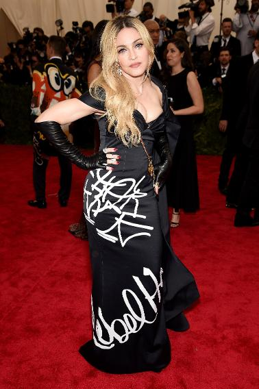 Madonna in Moschino by Jeremy Scott.
