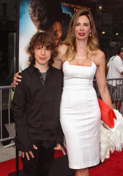 Lucas Jagger and Luciana Gimenez