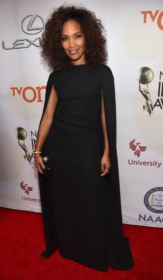Mara Brock Akil at the 46th NAACP Annual Image Awards