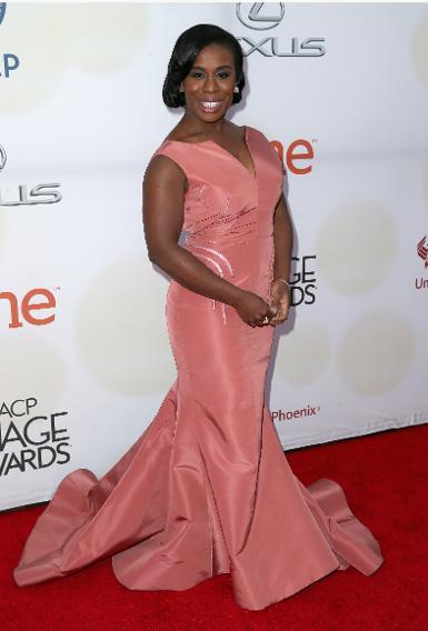 Uzo Aduba at the 46th Annual NAACP Image Awards
