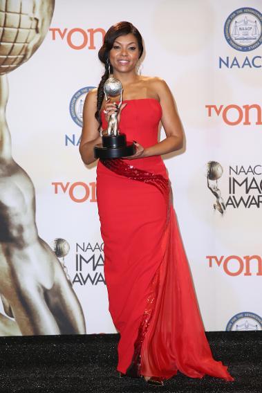 Taraji P. Henson at the 46th Annual NAACP Image Awards