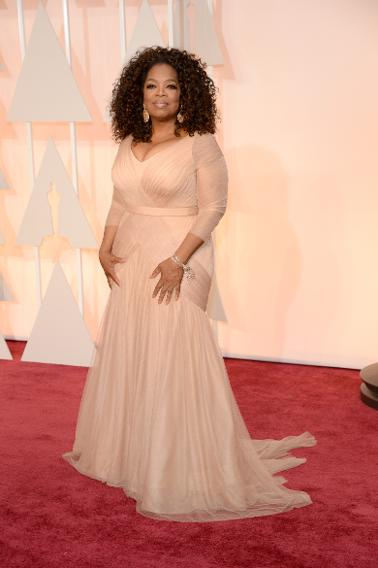 BEST: Oprah Winfrey in custom Vera Wang
