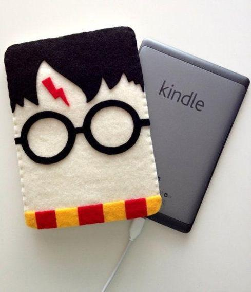 Felt Tech Case: Harry Potter Kindle Cover