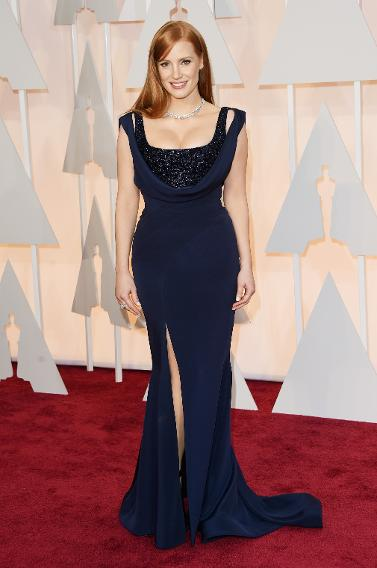 BEST: Jessica Chastain in Givenchy Couture