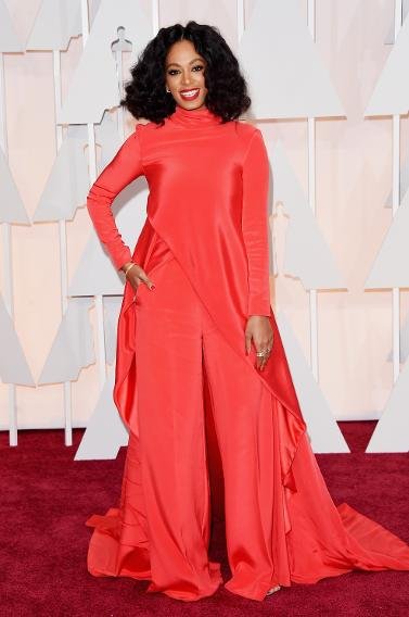 WORST: Solange Knowles in Christian Siriano