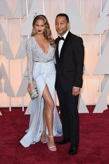 BEST: Chrissy Teigen in Zuhair Murad and John Legend in Gucci